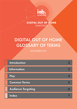 Digital Out of Home InteractiveGlossary Dec2019 1