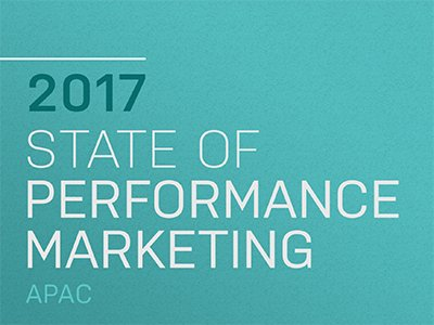 AdRoll: State of Performance Marketing APAC 2017