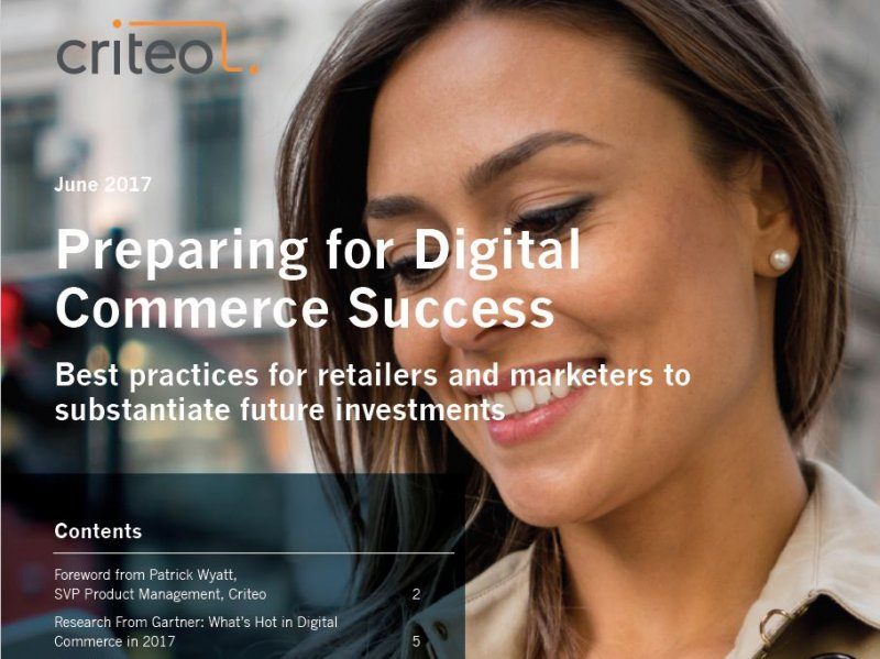 Criteo: Preparing for Digital Commerce Success