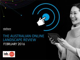 Australian Online Landscape Review: Interactive  - Feb. 2016