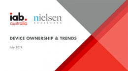 Device Ownership & Trends - July 2019