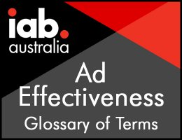 Ad Effectiveness - Glossary of Terms