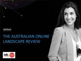 Australian Online Landscape Review - June 2016