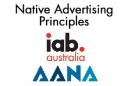 Native Advertising Principles: IAB and AANA - Nov. 2015