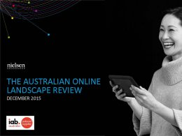 Australian Online Landscape Review: Interactive and PDF - Dec. 2015