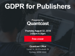 Quantcast Presents GDPR for Publishers