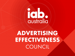 Ad Effectiveness Council