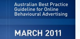 Australian Best Practice Guideline for Online Behavioural Advertising