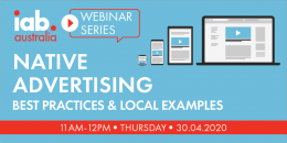 Native Advertising Webinar: Best Practices and Local Examples