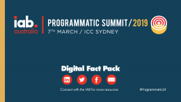 Digital Fact Pack: Programmatic Summit 2019