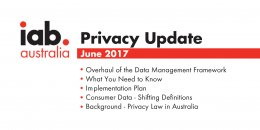 Overhaul of the Data Management Framework - June 2017 Update