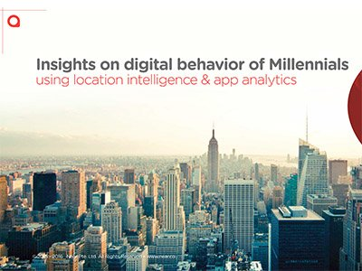 Near: Insights on digital behavior of Millennials using location intelligence and app analytics