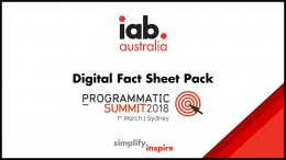 Digital Fact Sheet Pack: Programmatic Summit 2018
