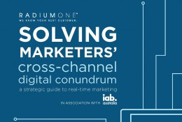 Solving Marketers' Cross-Channel Conundrum - Radium One White Paper in association with IAB Australia