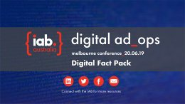 Melbourne Ad Ops 2019 Conference - Fact Pack