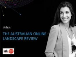 Australian Online Landscape Review - March 2018