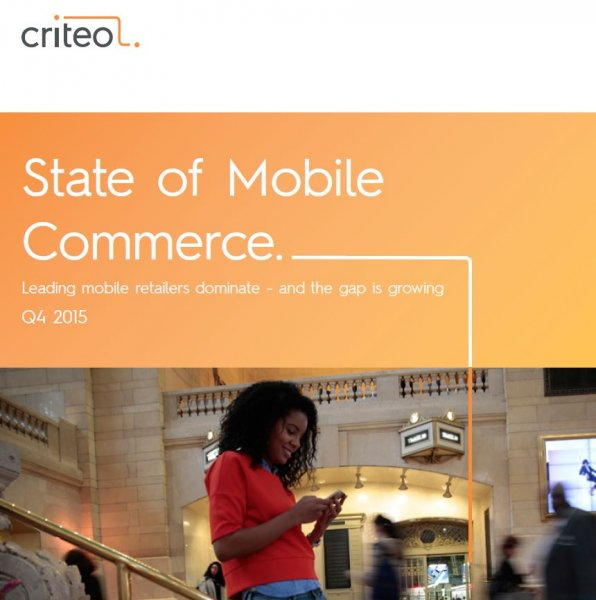 State of Mobile Commerce Report - Q4 2015: Leaders Widen the Gap