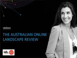 Australian Online Landscape Review - Apr. 2018