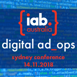 Hold the date - IAB Digital Ad Ops Sydney 2018