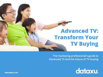dataxu: Advanced TV: Transform Your TV Buying Whitepaper