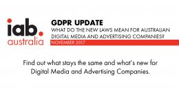 GDPR Update: What do the new laws mean for Australian Digital Media and Advertising Companies?