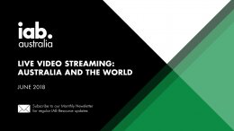 Live Video Streaming: Australia and the World – June 2018