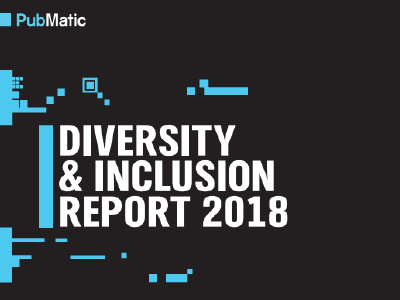 PubMatic: Diversity & Inclusion Report 2018