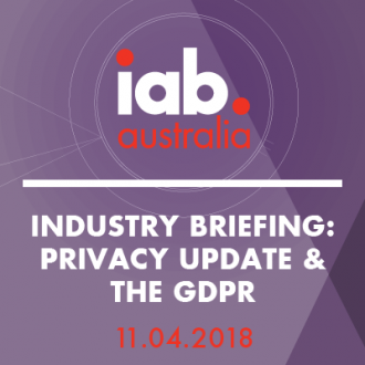 Industry Briefing: Privacy Update & the GDPR