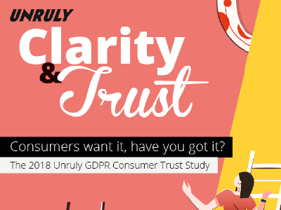 Unruly: 2018 GDPR Study: Have you got what it takes to rebuild consumer trust?