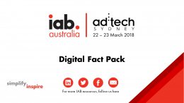 Digital Fact Pack: Ad:Tech Sydney 2018