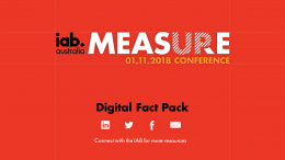 MeasureUp 2018: Digital Fact pack