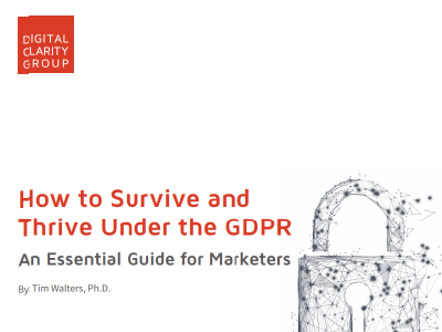 Signal: How to Survive and Thrive Under the GDPR
