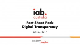 Digital Fact Sheet Pack for Digital Transparency