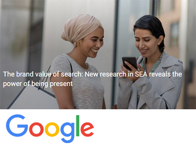 The brand value of search: New research in SEA reveals the power of being present