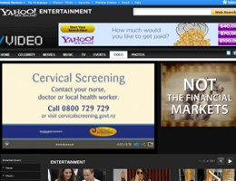 Y!NZ: National Cervical Screening Programme Case study