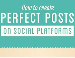 Smart Insights: The Perfect Social Media Update Infographic