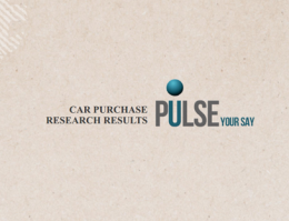 News Corp Pulse Panel - Car Purchase Research 2013
