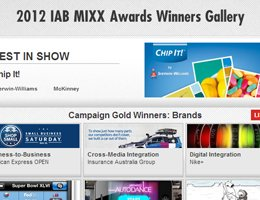 IAB US MIXX Awards 2012 Case Studies – Learn from the best-in-class digital creative