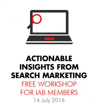IAB Workshop: Actionable Insights from Search Marketing