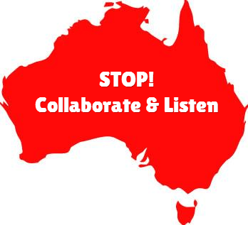 Big Data: Stop, Collaborate and Listen
