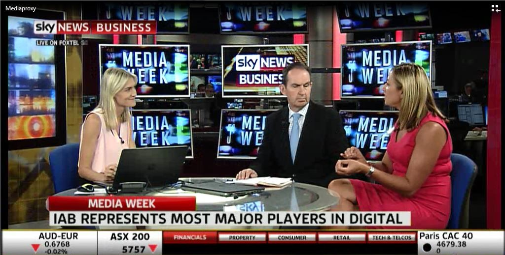 IAB CEO discusses the rise of digital on Sky News