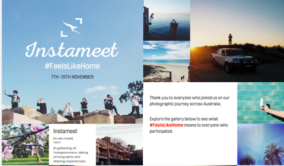 Qantas Instameet: Mobile creative travel case study